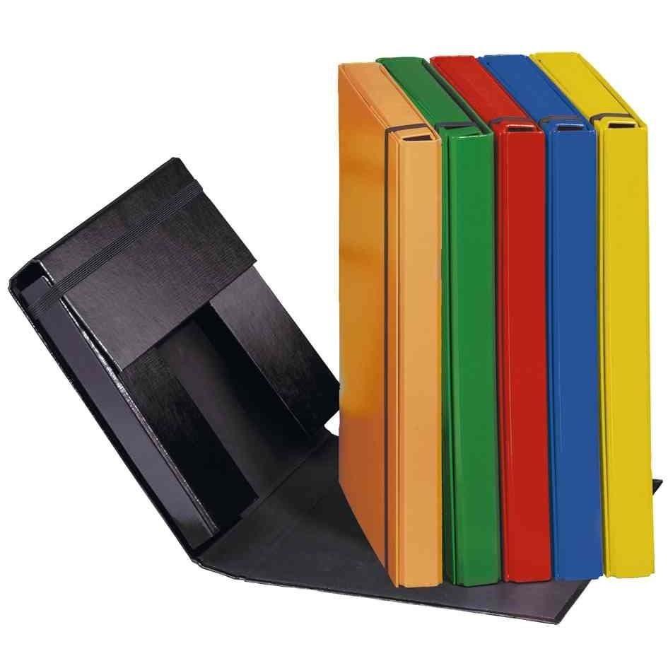 chemise à élastiques 'Basic Colours', format A4, noir