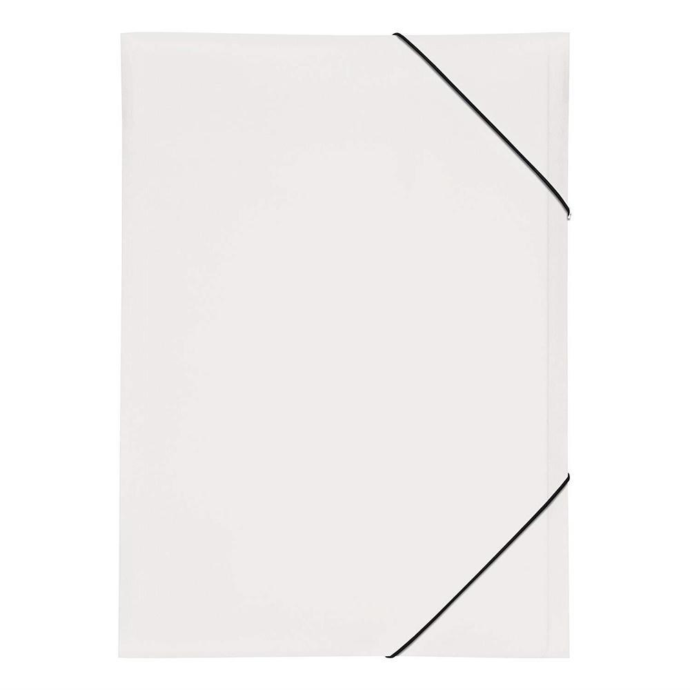 Chemise à élastique 'Trend Colours' PP A3 Blanc