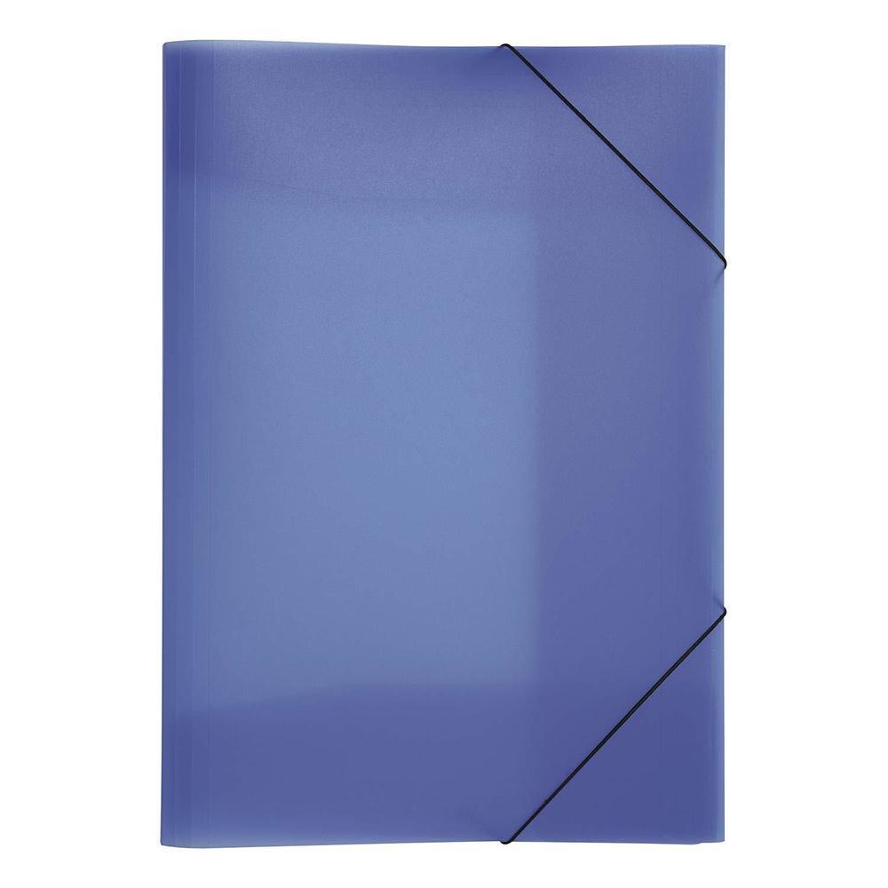 Chemise à élastique 'Trend Colours' PP A3 Bleu