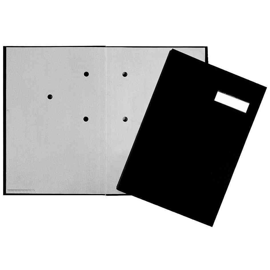 Parapheur, A4, 20 compartiments, noir