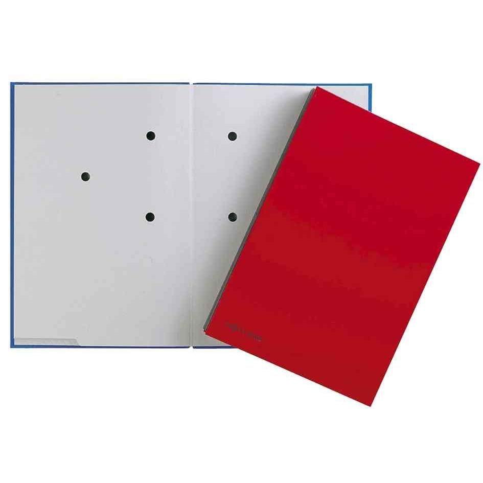 parapheur Color, format A4, 20 compartiments, rouge