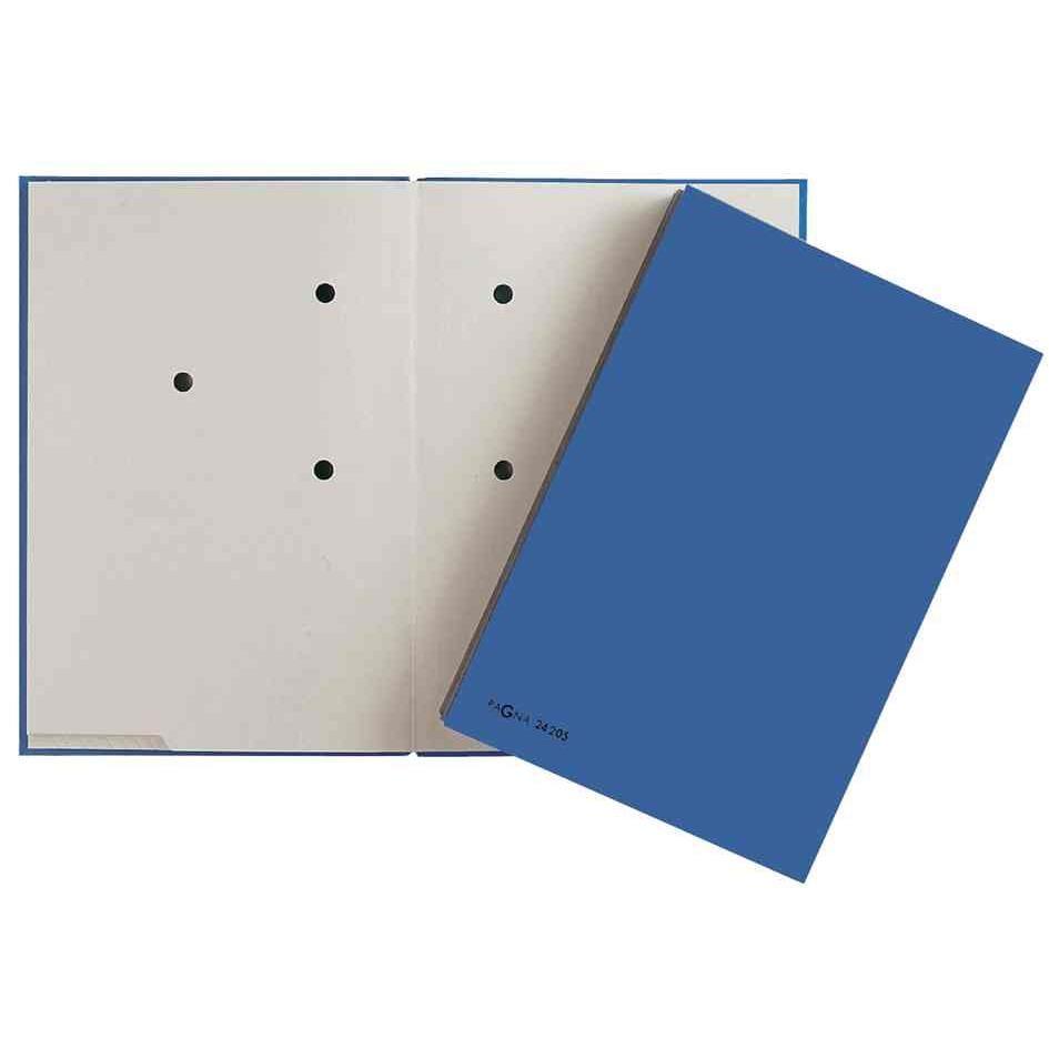 parapheur Color, format A4, 20 compartiments, bleu