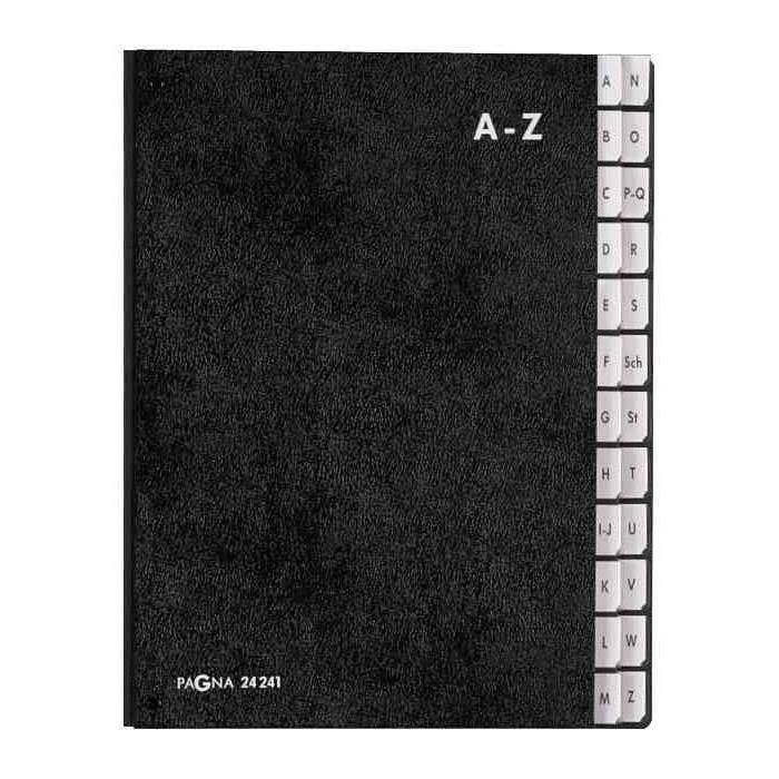 Classeur Trieur à soufflet A-Z avec 24 compartiments A-Z