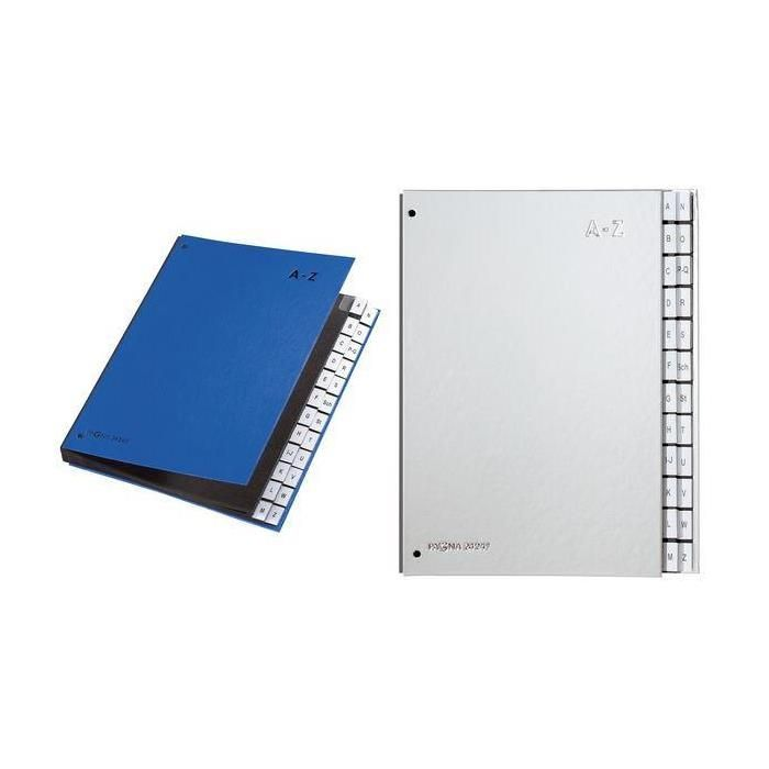 classeur à compartiments Color, format A4, A Z, 24