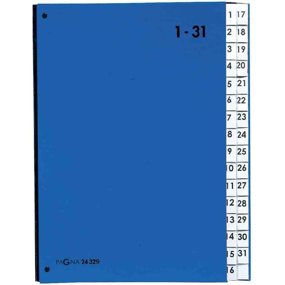 Trieur Pult Color, format A4, 1-31, 31 compartiments