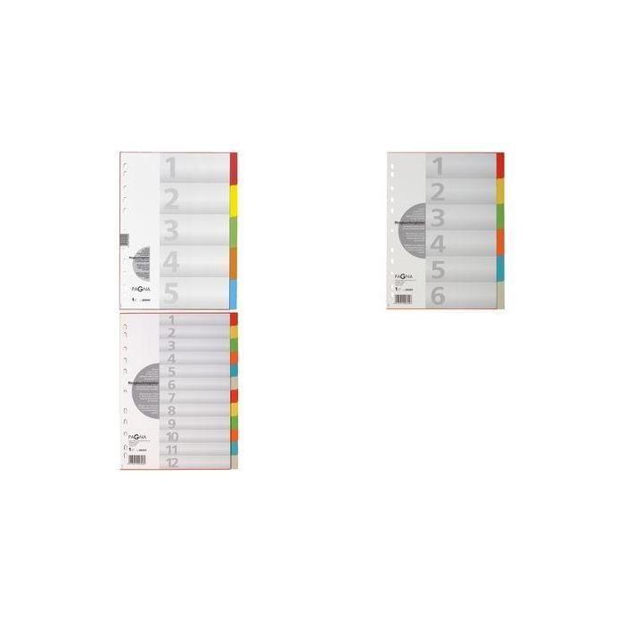 carton-registre, format A4, 10 pièces, 5 couleurs