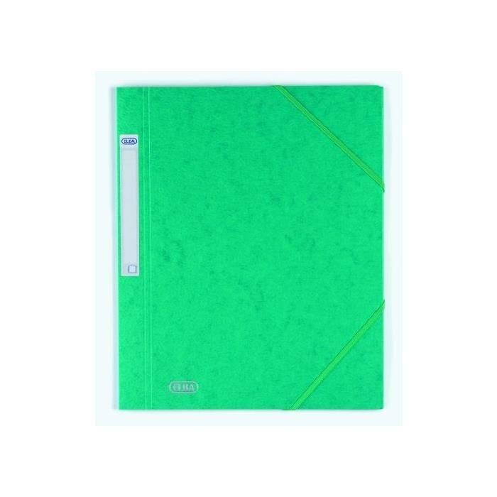 Chemise à élastique EUROFOLIO 'PRESTIGE' Vert A4