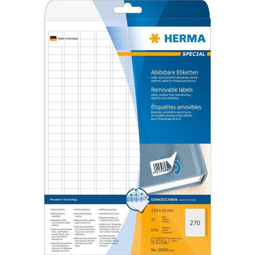 Étiquettes universelles SPECIAL, 35,6 x 16,9 mm, blanc