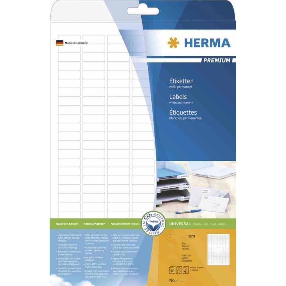 Etui 300 Étiquettes Universelle PREMIUM 105 x 48 mm Sur 25 F A4 Blanc