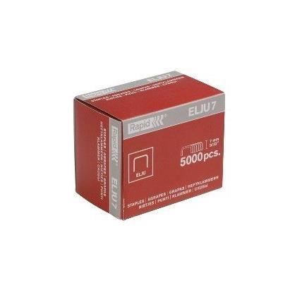 Agrafes 5 mm en acier galvanisé Elju 5 - Paquet de 5000