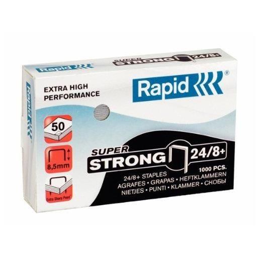 Agrafes Super Strong 24/8+ galvanisé Boite de 1000