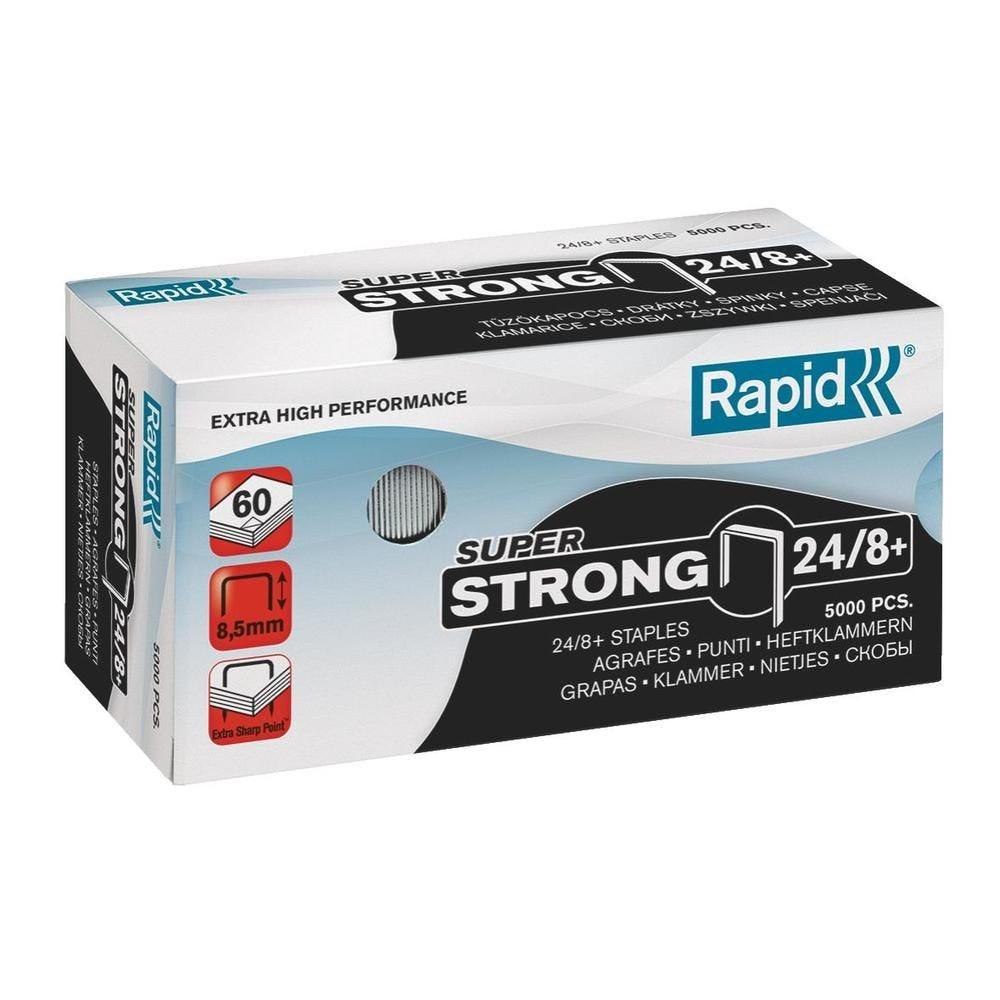 Agrafes Super Strong 24/8+ galvanisé en boite de 5000