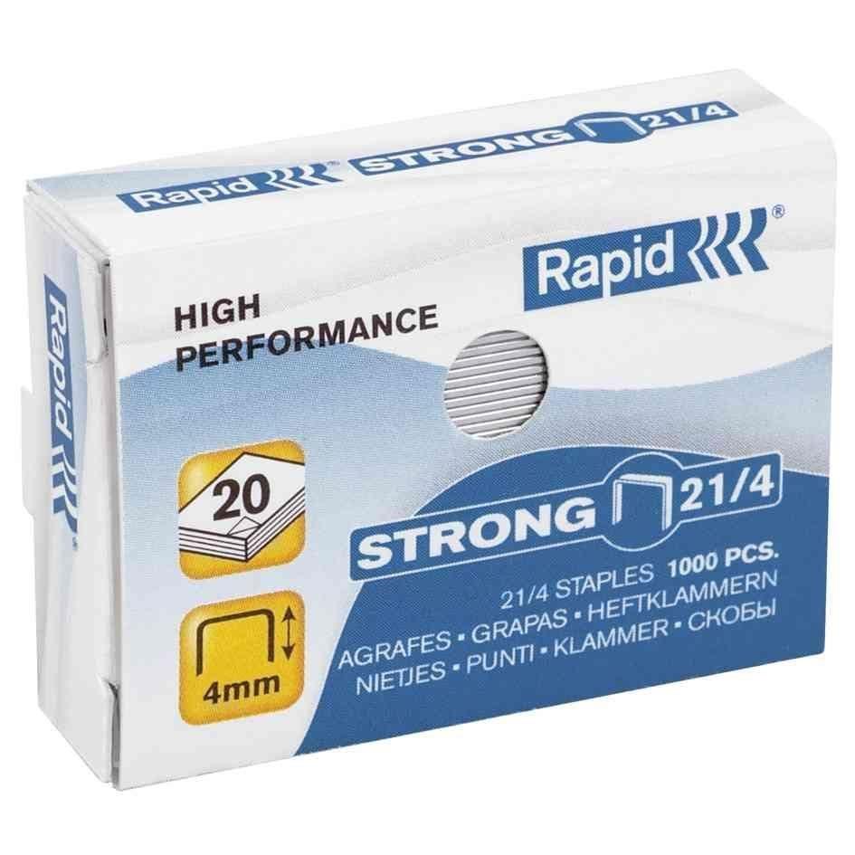 Agrafes Strong 21/4 galvanisé- boîte de 1000