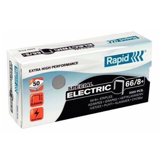 boite de 5000 Agrafes Electric Super Strong 66/8+ galvanisé