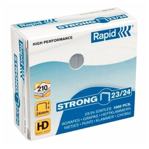 Boîte de 1000 Agrafes Strong 23/24, galvanisé