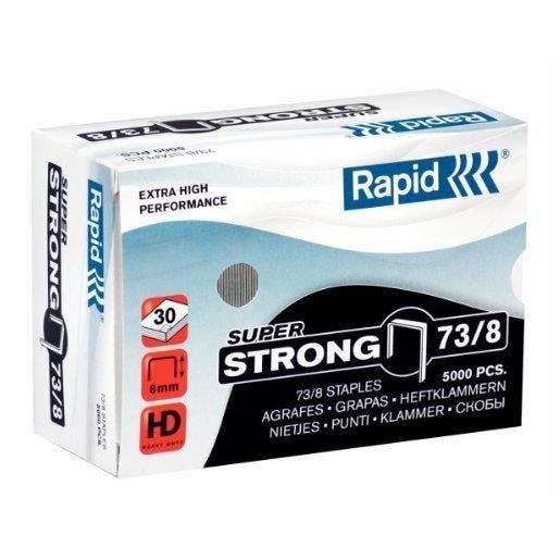 Agrafes Super Strong 73/8 galvanisé en boite de 5000