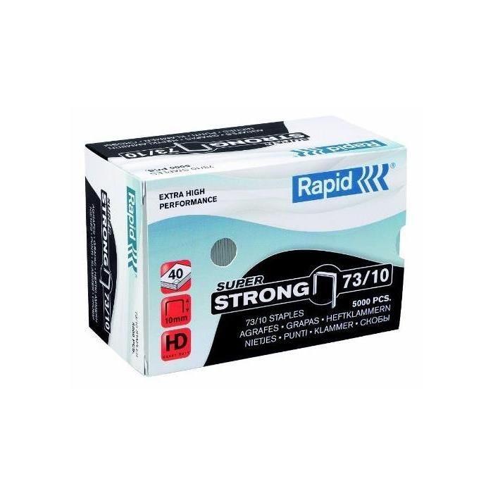 Agrafes Super Strong 73/10 galvanisé en boite de 5000