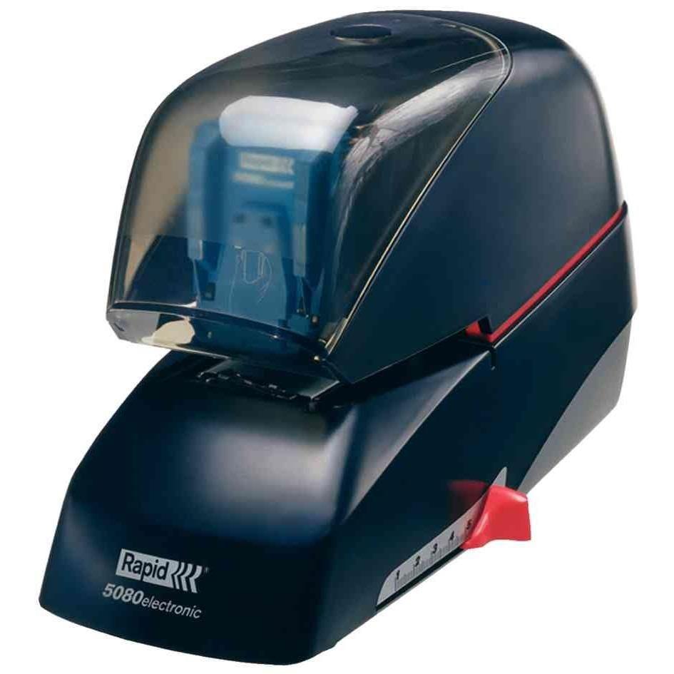 Agrafeuse Supreme R5080E électrique plastique et métal Noir
