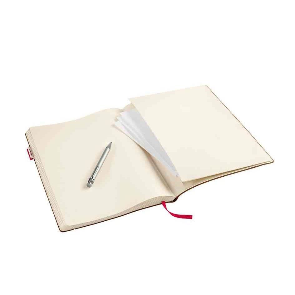Carnet de notes 'senseBook RED RUBBER' 14x21 cm Medium 135 pages