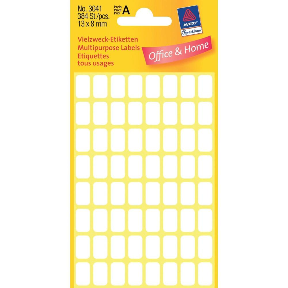 Étiquettes multi-usages, 98 x 51mm, blanches