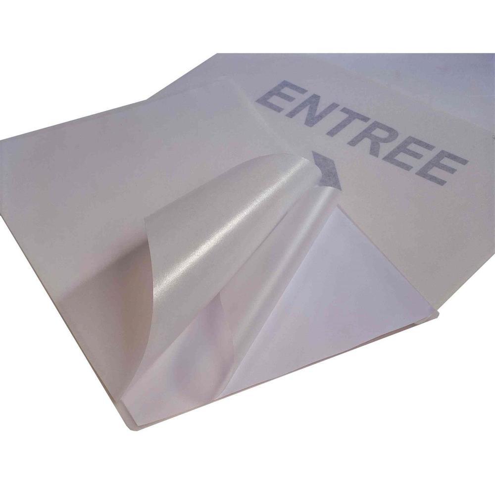 Boîte de 100 pochettes à plastifier A4 200 microns (2x100) Autocollantes - boîte