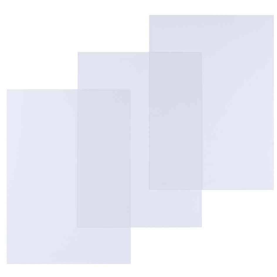 Boite de 100 Plats De Couverture pour Reliure A4 PVC 0,25mm Transparent - boîte