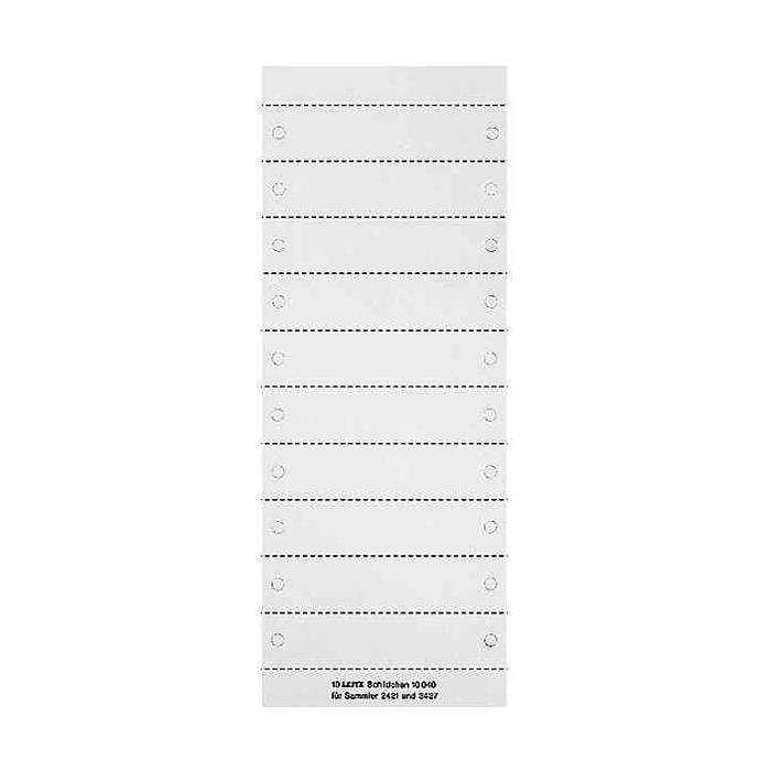 étiquettes d'inscription uni pour porte-revues 2427
