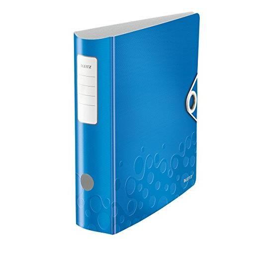 Classeur à levier Active WOW 180 degrés 80 mm Bleu métallisé