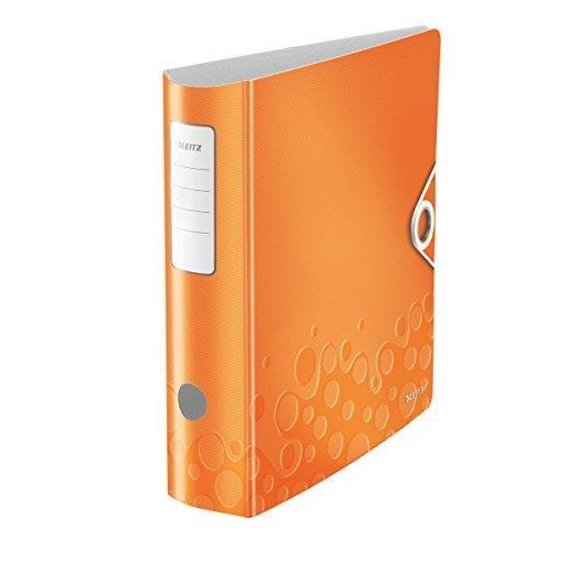 Classeur à levier Active Wow A4 80 mm Orange métallisé