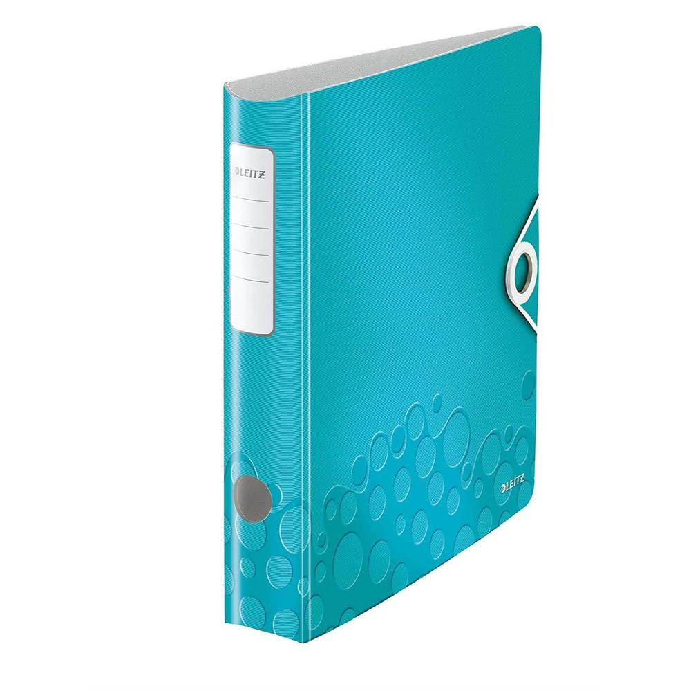 Classeur Active WOW, 180 degrés, 60 mm, bleu glace