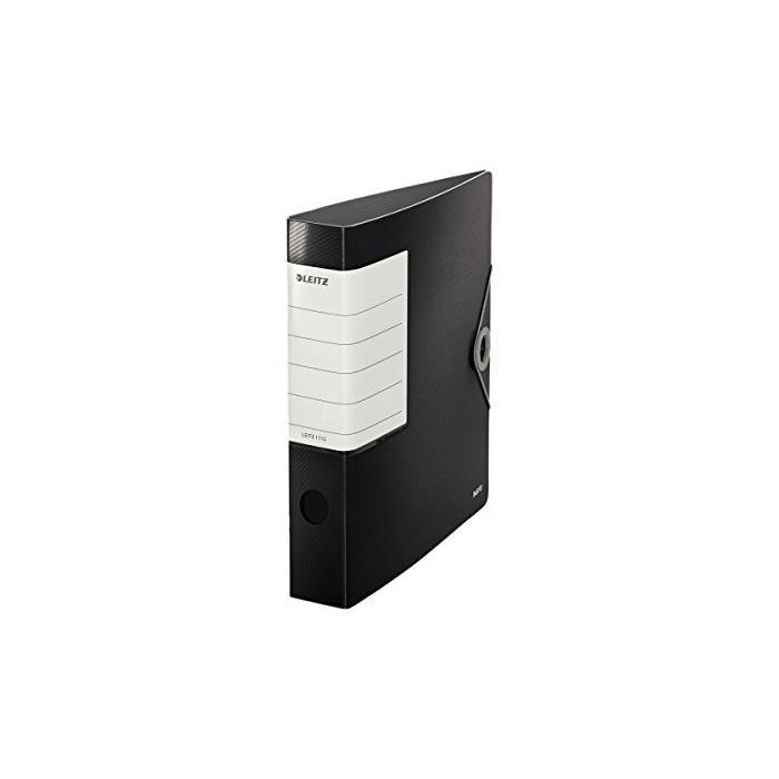 Classeur à Levier Solide Polyfoam 180 degrés Dos de 62 mm Noir
