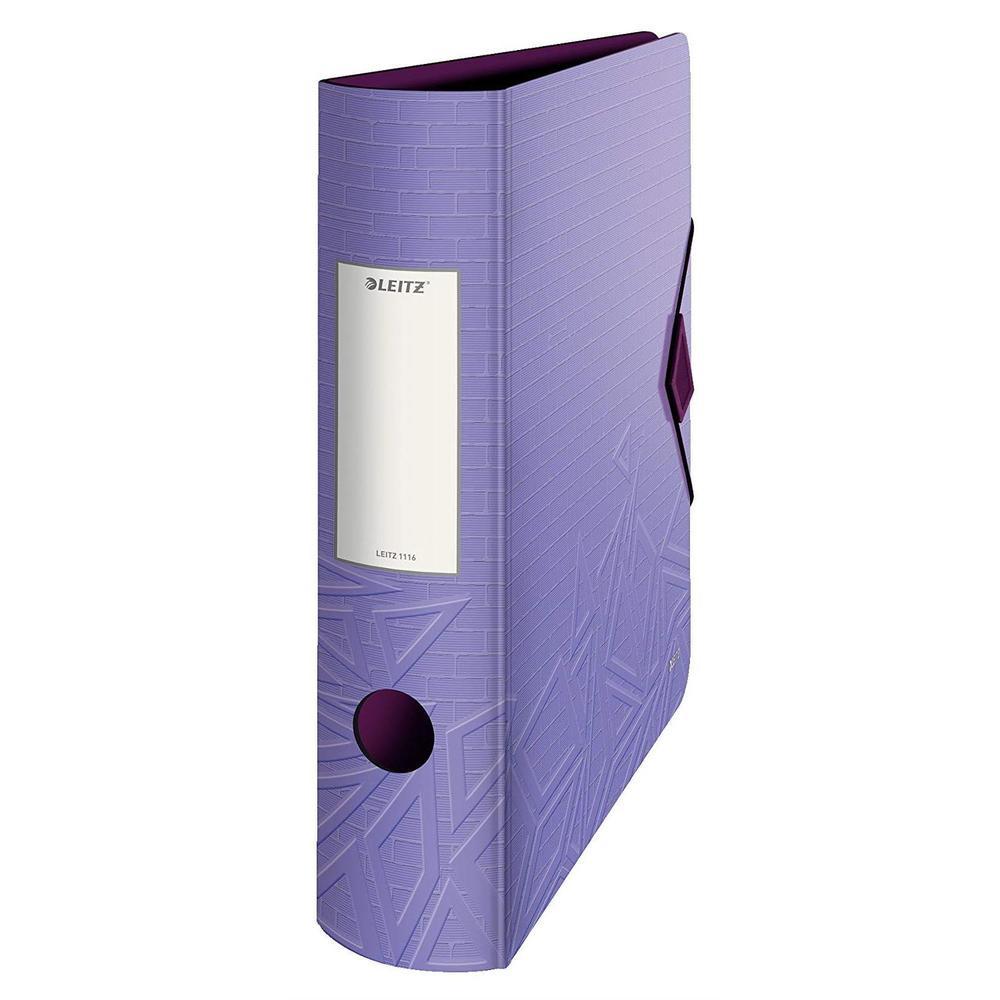 Classeur Active Urban Chic, 180 degrés, 82 mm, violet