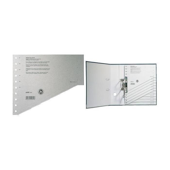 Intercalaire-échelon, format A4 extra large, gris