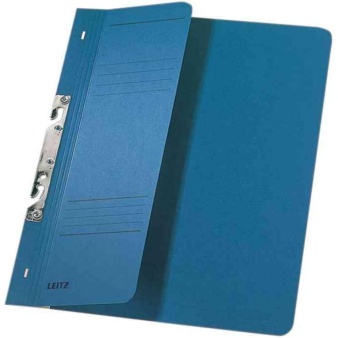 Chemise à crochet, format A4, carton manila, bleu - par 50