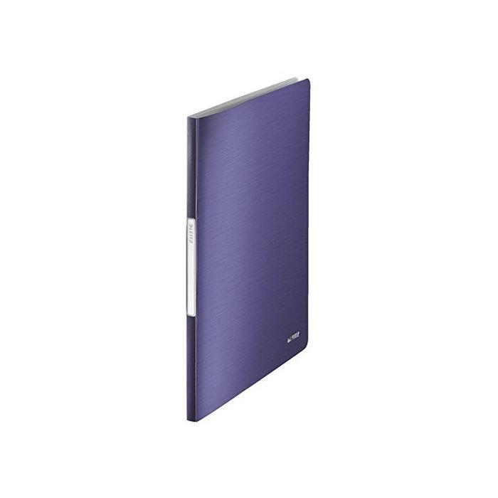Protège documents Style, format A4, PP, bleu titane