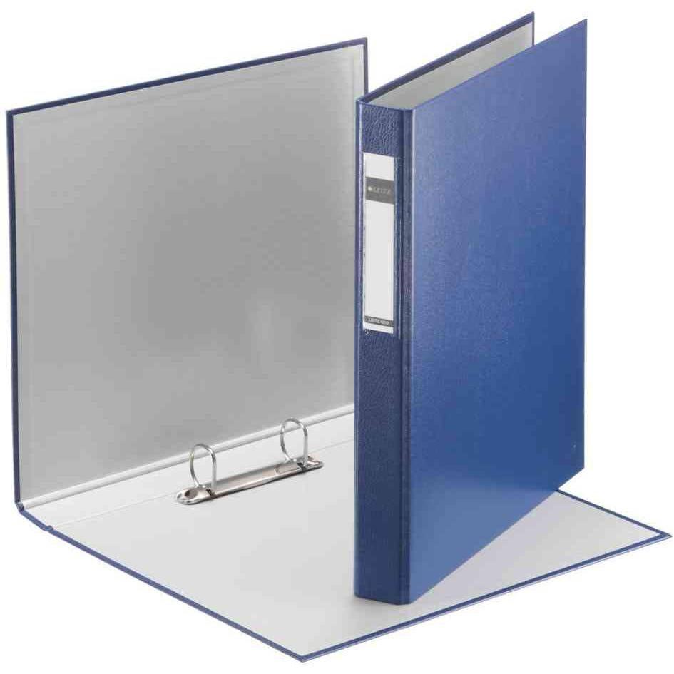 Classeur à anneaux standard, DIN A5, bleu, mécanisme