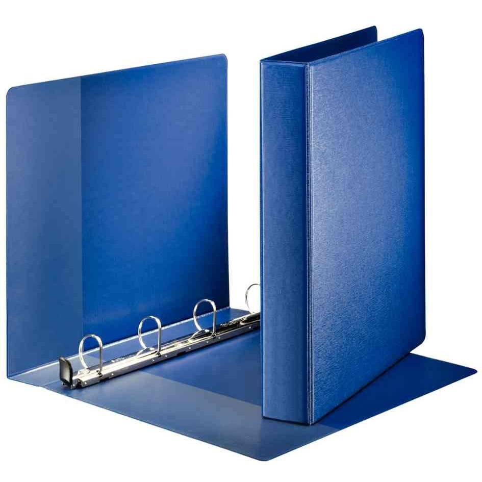 classeur à anneaux Premium format A4 extra large,bleu