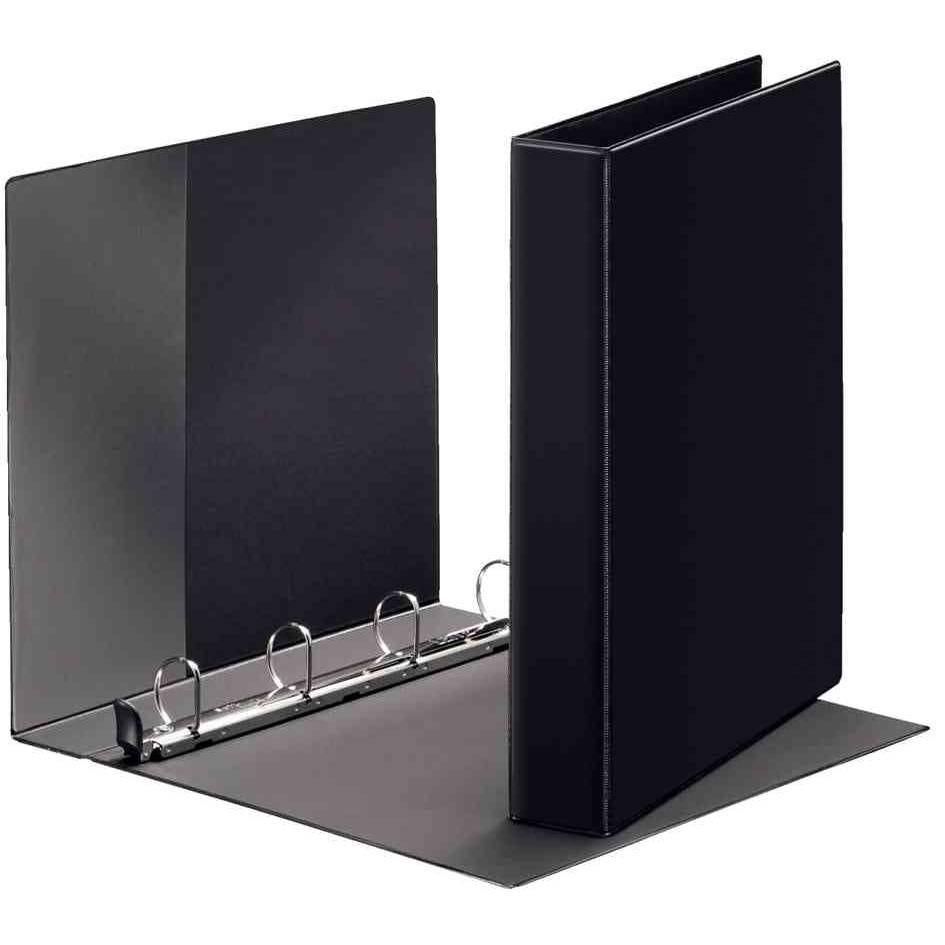 classeur à anneaux Premium format A4 extra large,noir