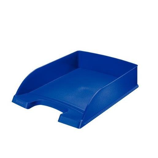 Plus Corbeille à courrier Hauteur 70mm Bleu