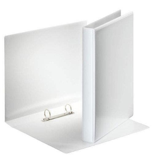 Classeur 2 anneaux 25 mm personnalisable A4 Dos 38 mm Blanc