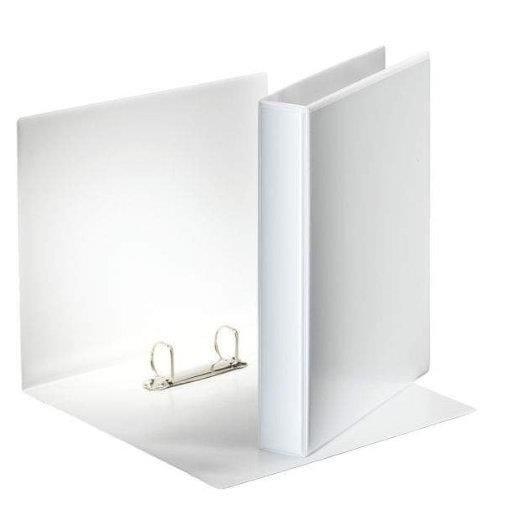Classeur 2 anneaux 30 mm personnalisable A4 Dos 50 mm Blanc