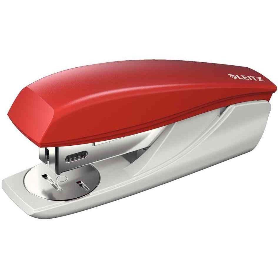 Agrafeuse Nexxt 5501, rouge, dans un blister