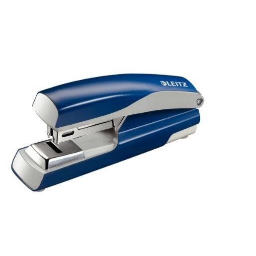 Agrafeuse à plat Nexxt 5505,capacité:30 feuilles, bleu