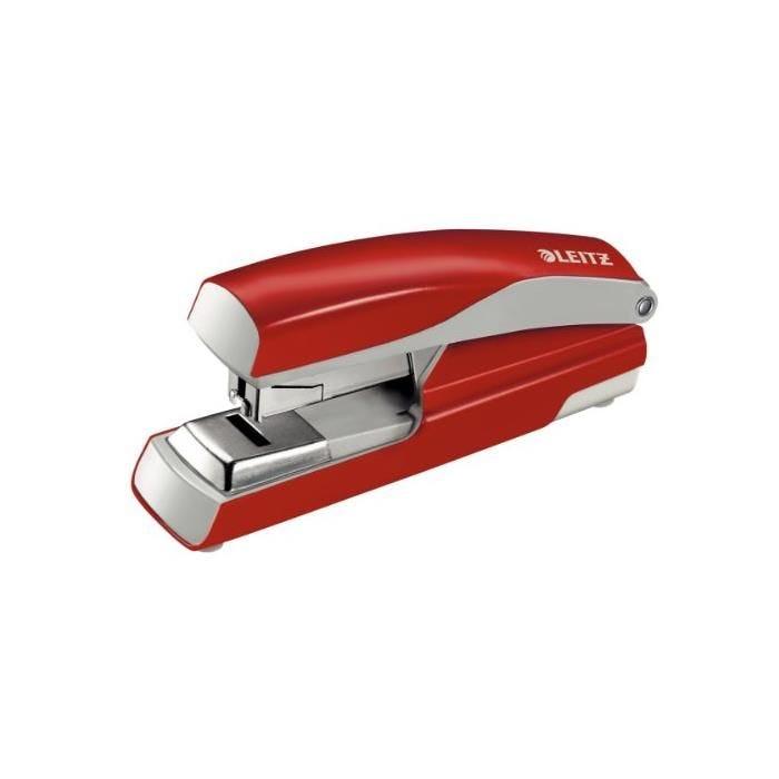 Agrafeuse à plat Nexxt 5523,capacité:40 feuilles,rouge