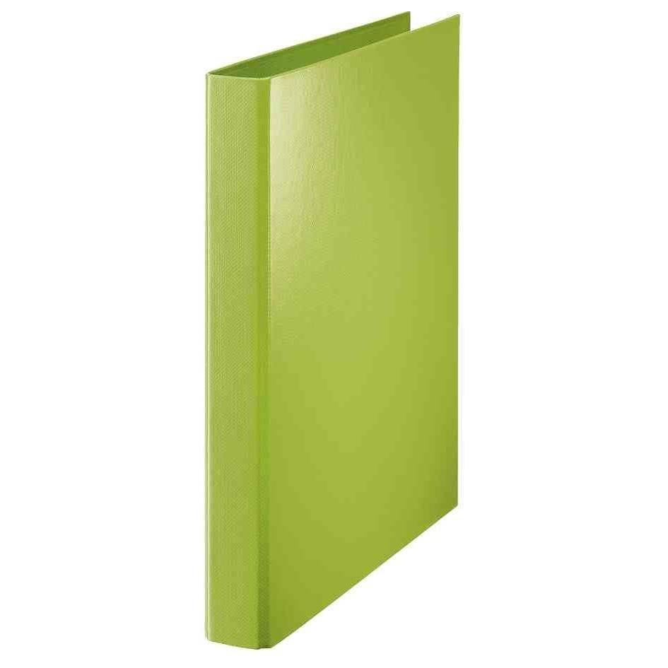 cahier-classeur à anneaux, A4, vert, mécanisme