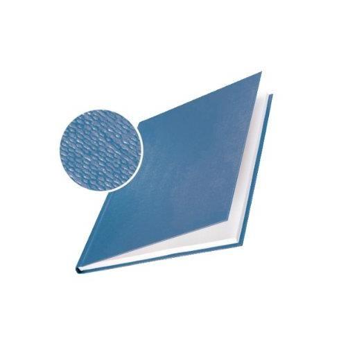 Impressbind Lot de 10 Chemise carton toilé rigide 7 mm 36 à 70 feuilles Bleu …