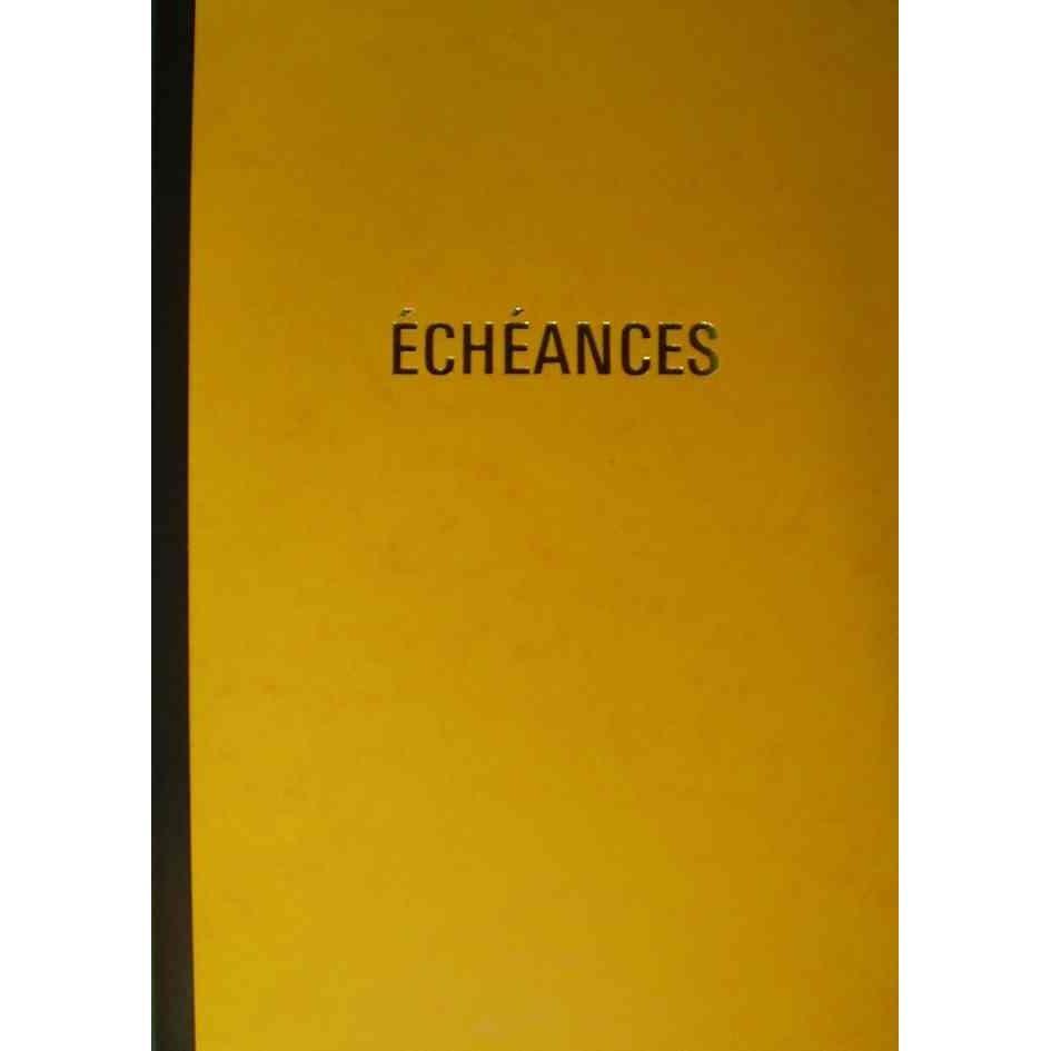 Cahier piqûre 'Echéances', 92 pages, 320 x 210 mm
