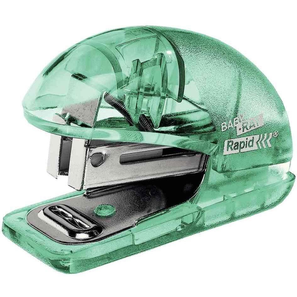Mini-Agrafeuse Colour'Ice F4 pour 24/6 - 26/6 Vert Translucide