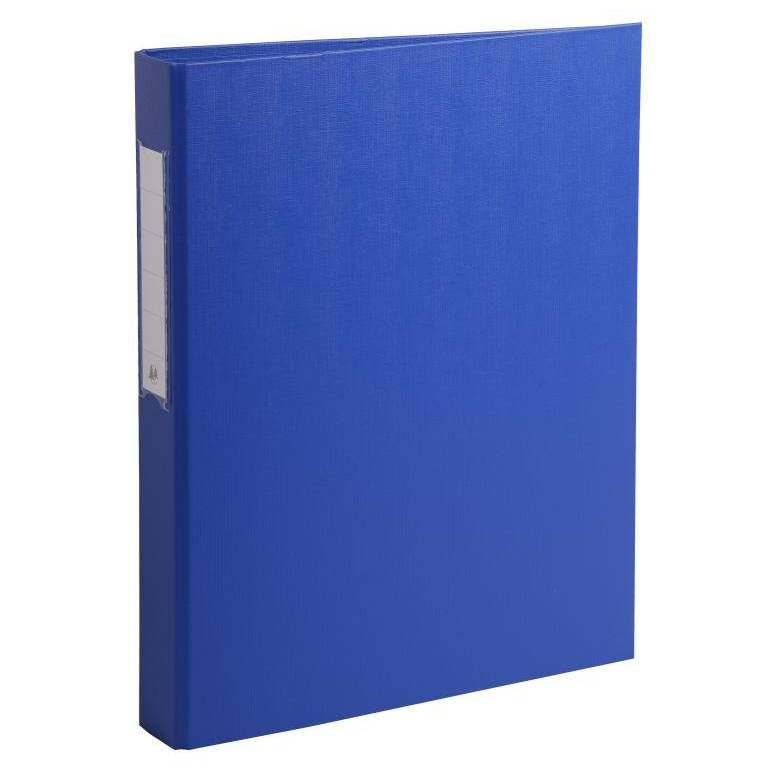 Classeur à anneaux, PP, 2 anneaux, A4, bleu