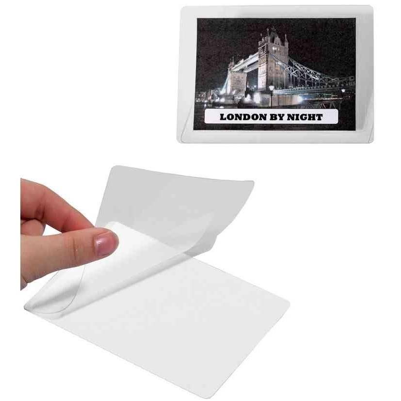pochettes de plastification à froid SEAL IT 54x90 mm - par lot de 100